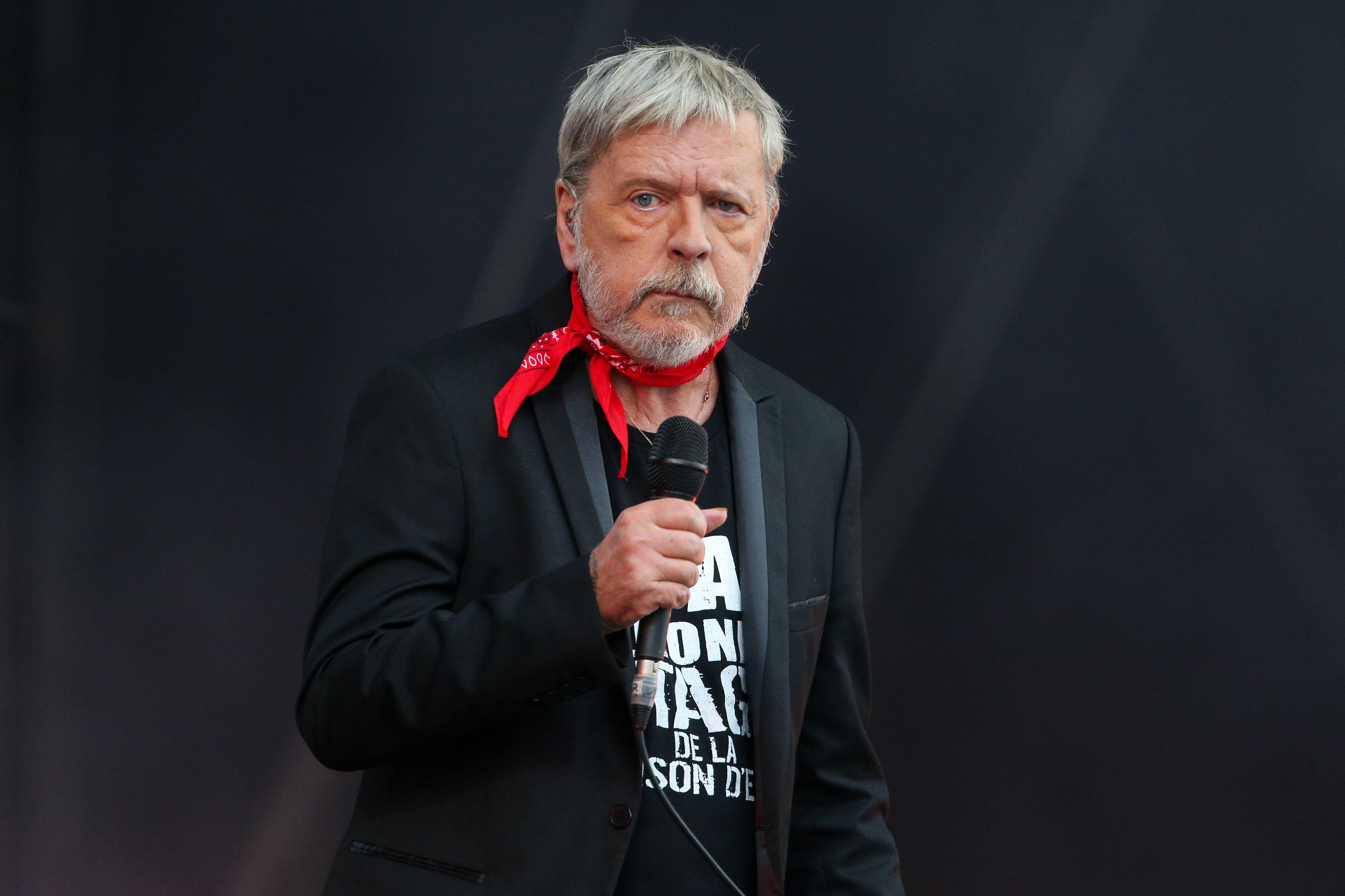 Renaud sur scène le 17 septembre 2017 à la