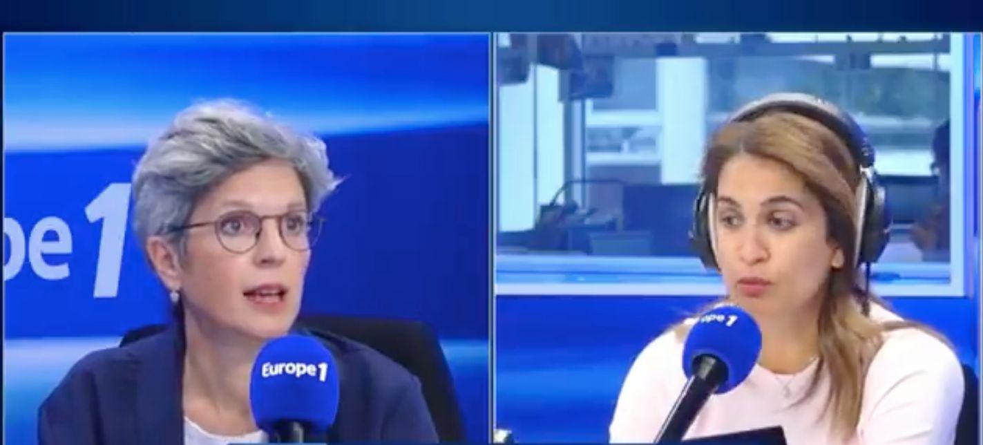 Sonia Mabrouk n'a pas vraiment apprécié que Sandrine Rousseau soutienne la rédaction