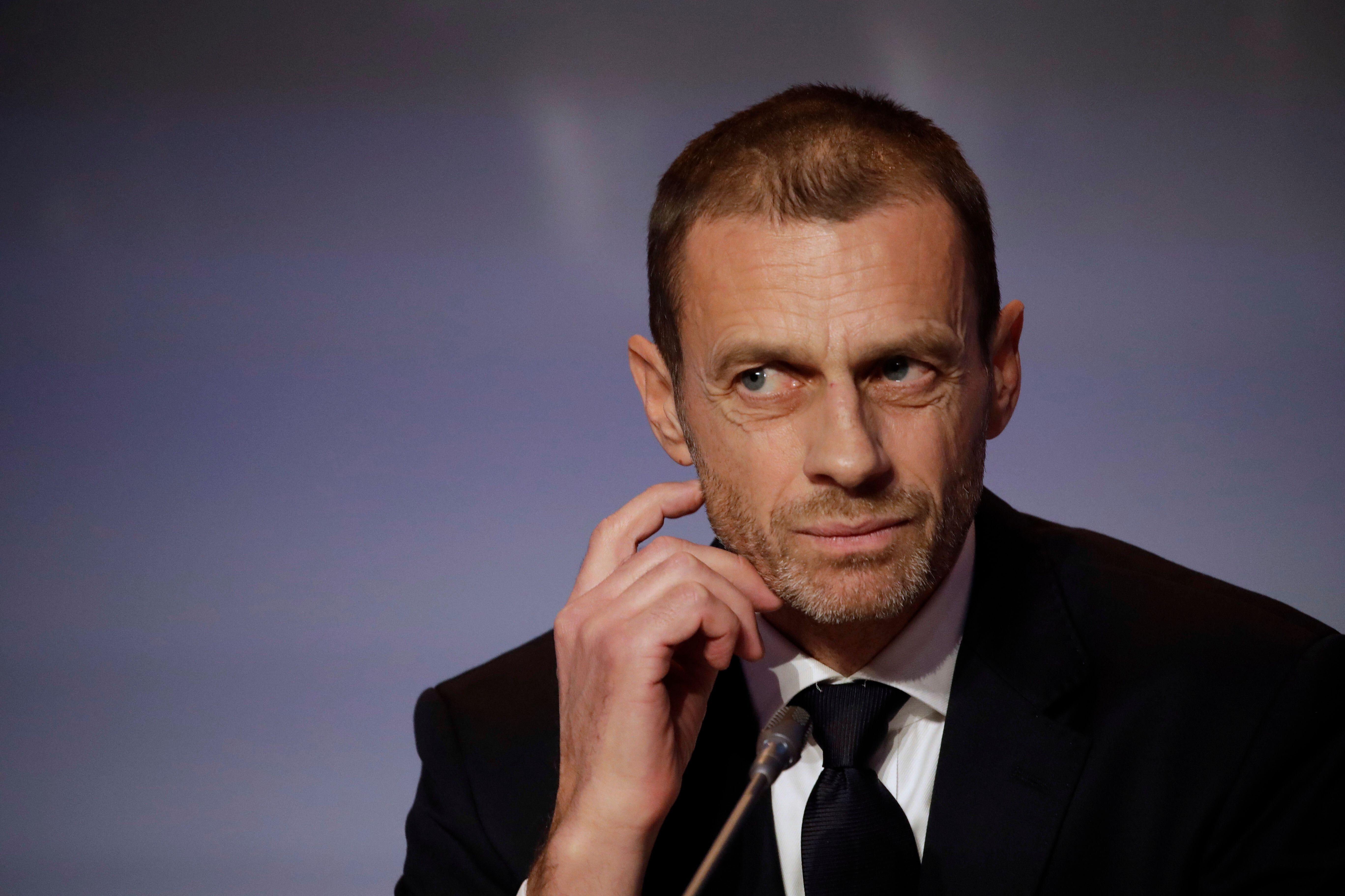 Aleksander Ceferin, président de l'UEFA, abandonne les sanctions à l'encontre des clubs...