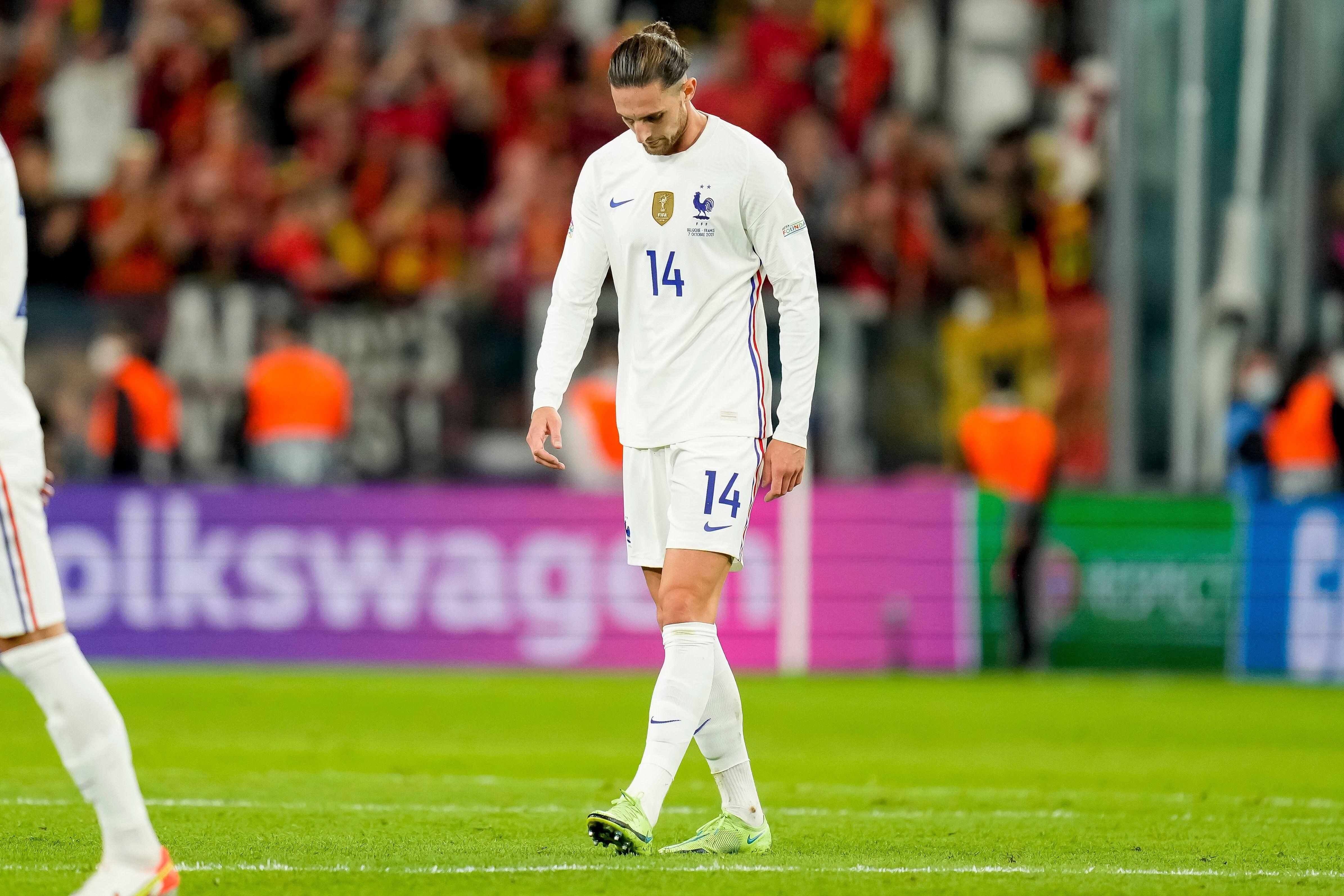 Positif au Covid, Rabiot manquera la finale de Ligue des nations contre l'Espagne (Photo prise...