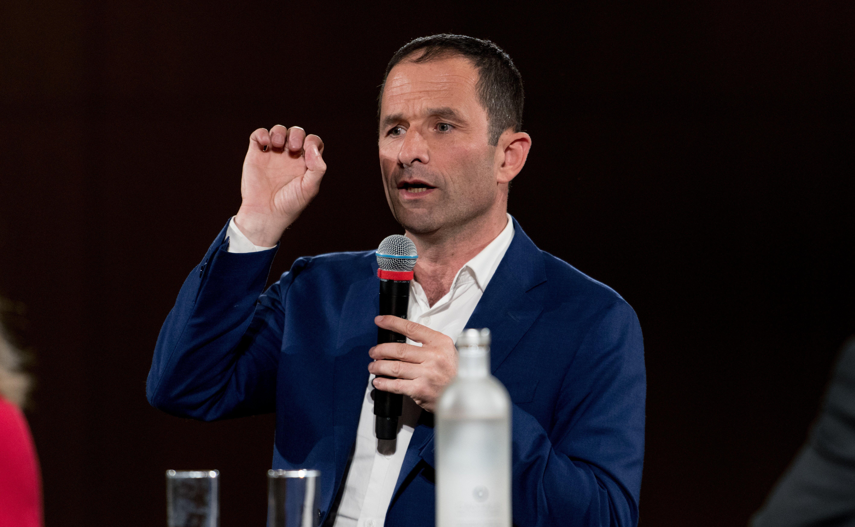 Benoît Hamon, ici à Rennes, le 24 Mai