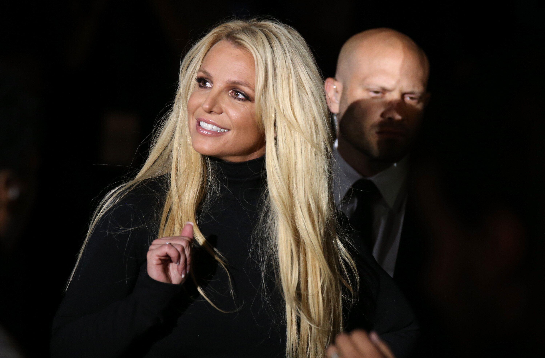 Britney Spears à Las Vegas, Etats-Unis, le 18 octobre