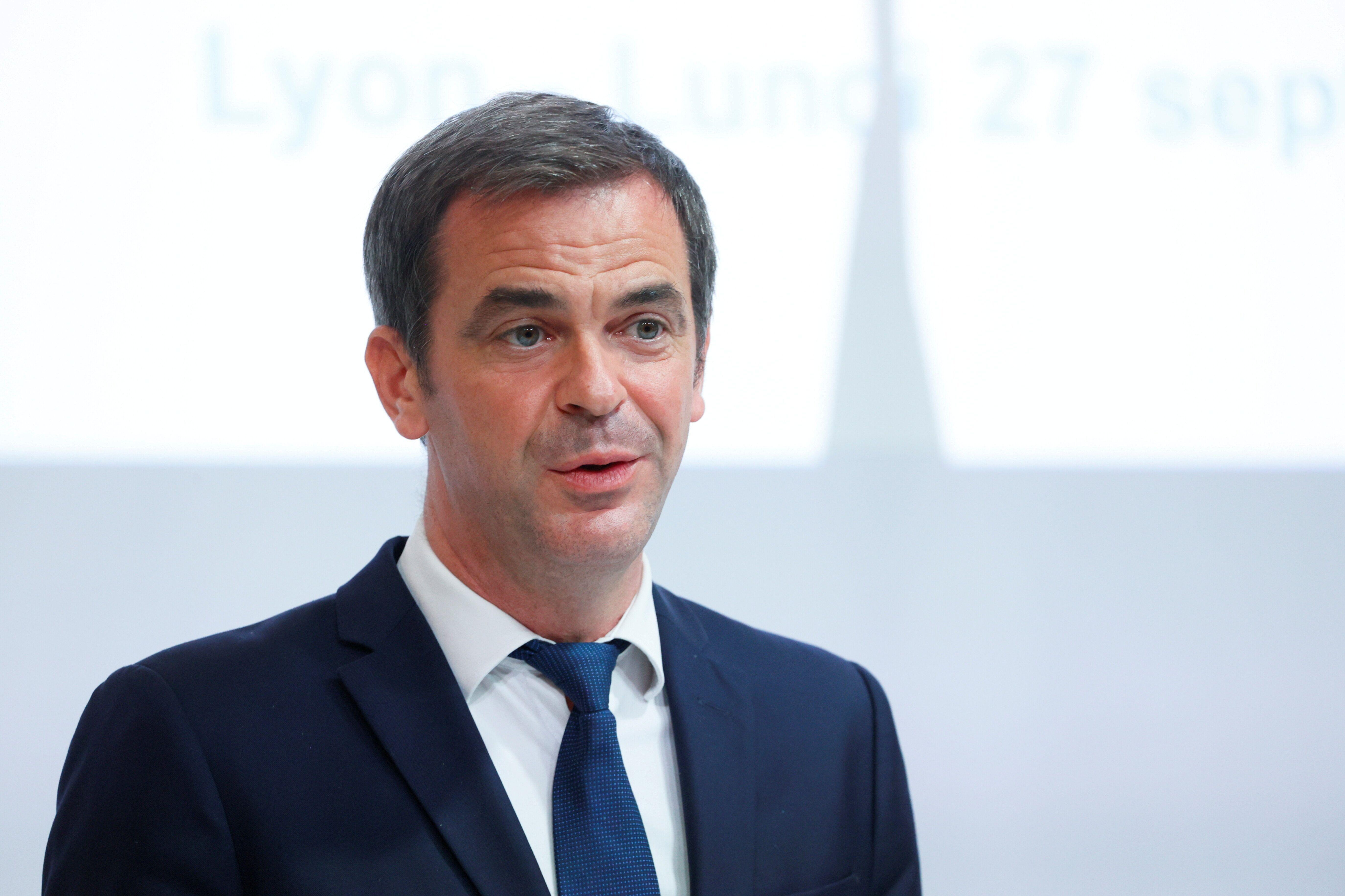 Olivier Véran, ici à Lyon, le 27 septembre