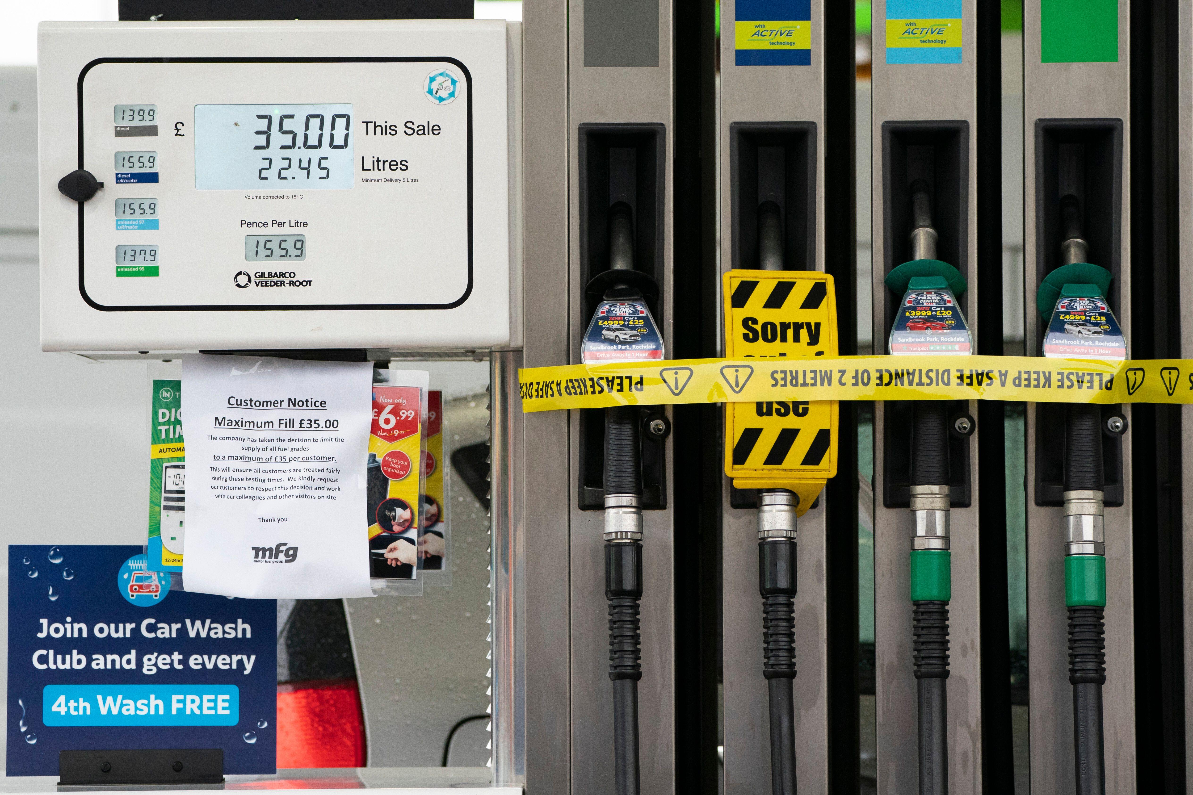 Face à la pénurie de carburants au Royaume-Uni, l'armée sera déployée...