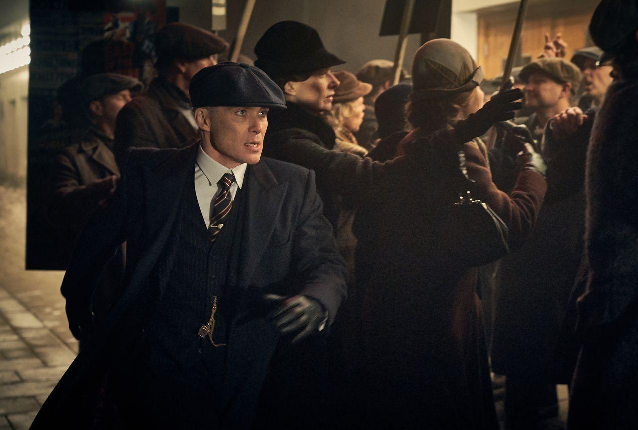 Le personnage Thomas Shelby (Cilian Murphy) dans la saison 5 de la série