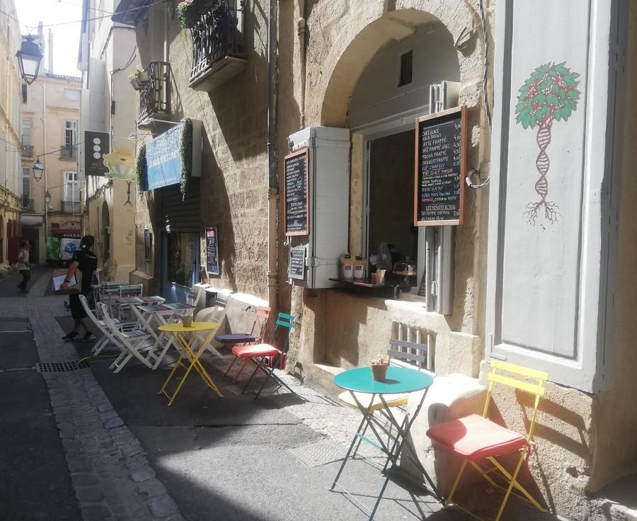 coffee shop terrasse montpellier