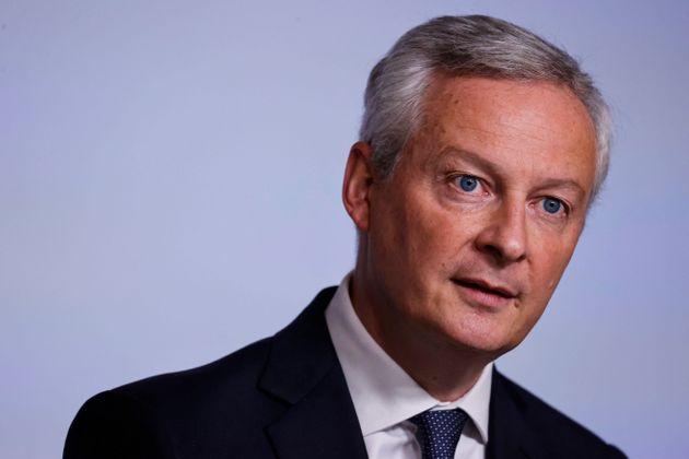 Le ministre de l'Economie et des finances Bruno Le Maire, ici le 22 septembre