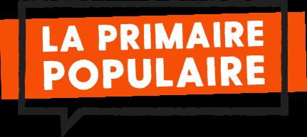 Le logo de la Primaire populaire qui tente de créer un rassemblement à gauche avant