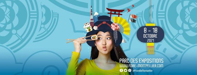 japonaise sushi illustration foire internationale montpellier 2021